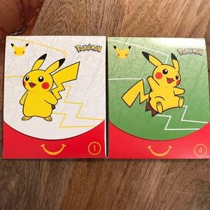 3/$30 Happy Meal Pokemon Cards Set of Two